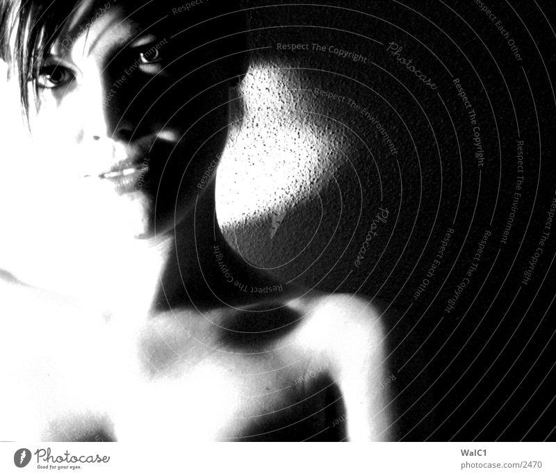 Woman Eyes Eroticism Naked Skin Lady Human being