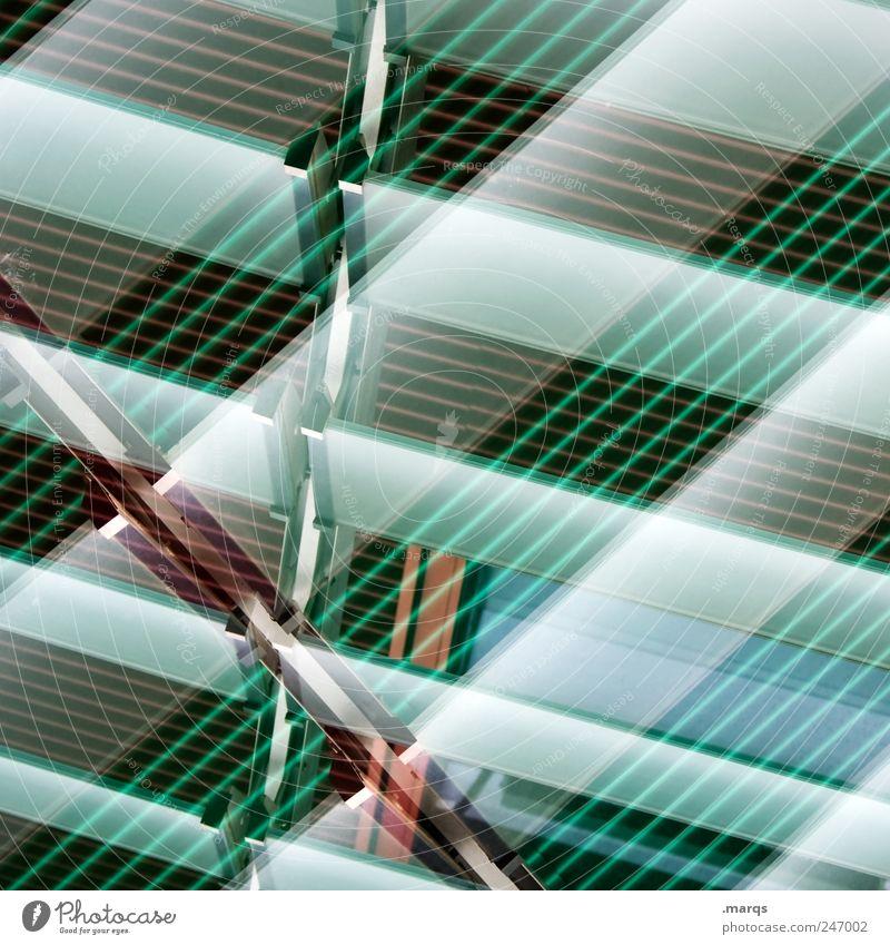 Green Colour Style Line Facade Design Crazy Perspective Cool (slang) Stripe Exceptional Illuminate Hip & trendy Checkered