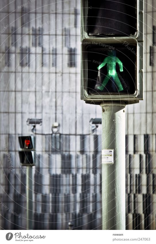 City Green Red Street Building Wait Going Transport Observe Manmade structures Testing & Control Traffic light Pedestrian Optimism Patient Fair