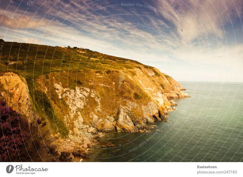 Sky Nature Water Beautiful Summer Beach Ocean Clouds Calm Meadow Freedom Landscape Environment Grass Coast Rock