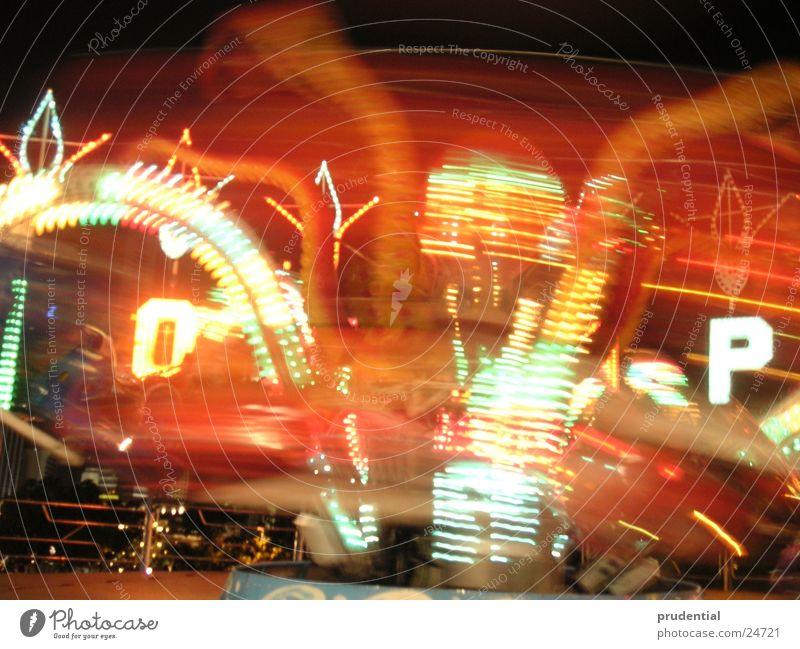 fairground 3 Fairs & Carnivals Carousel Long exposure Dark Services merry-goround roundabout octupus Light Evening
