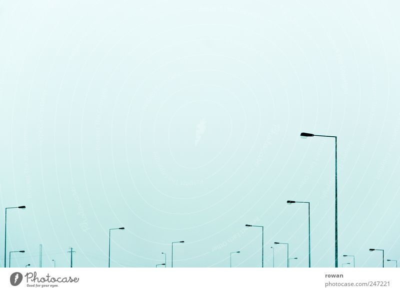 Sky Lamp Line Lighting Fog Transport Many Street lighting Environmental pollution Structures and shapes