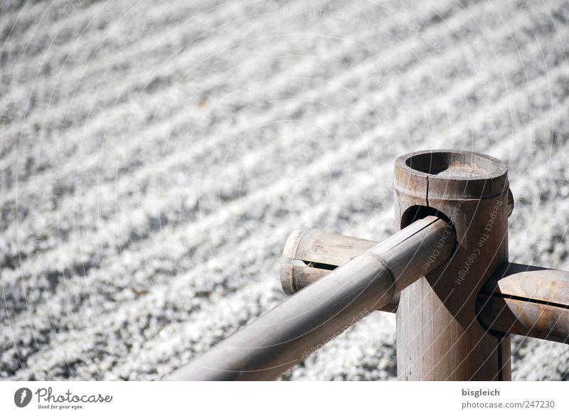 Calm Gray Garden Wood Stone Serene Gravel Caution Zen Attentive Bamboo stick Buddhism