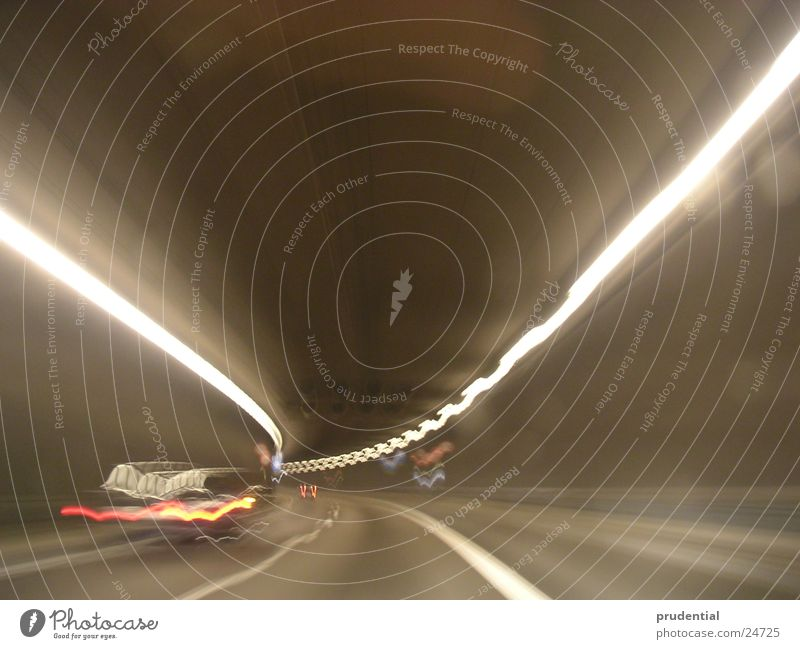 Transport Speed Tunnel Curve