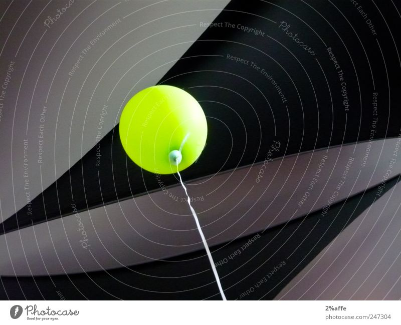 Green Joy Black Colour Relaxation Playing Freedom Gray Line Feasts & Celebrations Contentment Flying Design Esthetic Balloon Hope
