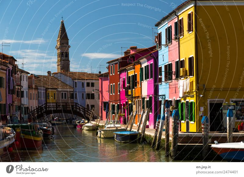 Vacation & Travel Colour House (Residential Structure) Tourism Facade Trip Europe Idyll Joie de vivre (Vitality) Italy Tourist Attraction Landmark
