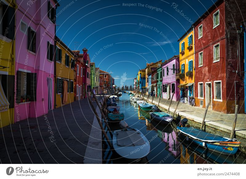 Vacation & Travel Colour House (Residential Structure) Tourism Facade Trip Living or residing Europe Idyll Island Italy Tourist Attraction Landmark Sidewalk