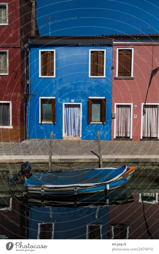 favorite color Vacation & Travel Trip Sightseeing City trip Summer vacation Living or residing House (Residential Structure) Burano Venice Italy Village