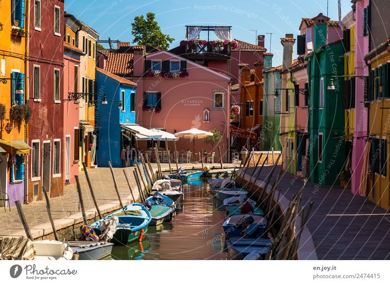 Vacation & Travel Colour House (Residential Structure) Lanes & trails Exceptional Facade Trip Idyll Happiness Joie de vivre (Vitality) Crazy Italy