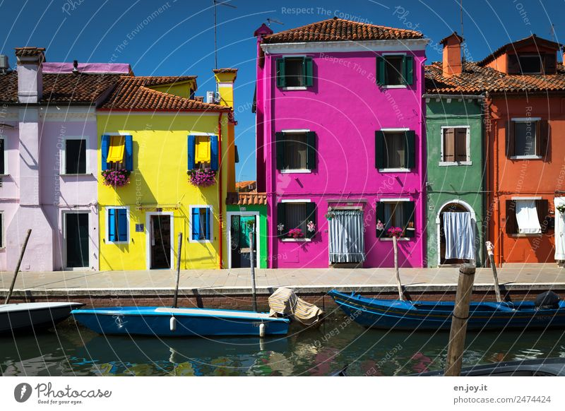 Vacation & Travel Summer Town House (Residential Structure) Lanes & trails Exceptional Pink Trip Europe Happiness Italy Friendliness Tourist Attraction