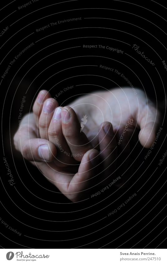 Human being Hand Calm Together Arm Skin Fingers Desire Longing To hold on Pain Distress Patient Exhaustion Homesickness Thrifty