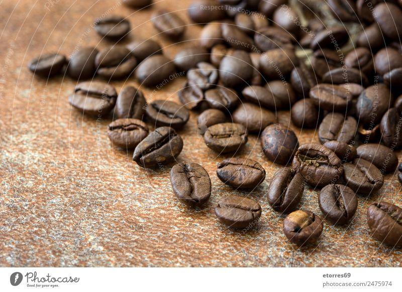 Roasted coffee beans background Food Grain Nutrition Breakfast Organic produce Vegetarian diet Diet Coffee Espresso Natural Brown Caffeine Food photograph