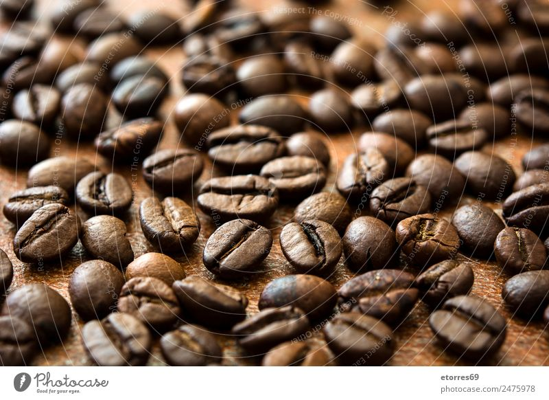 Roasted coffee beans background Food photograph Background picture Natural Brown Coffee Beverage Drinking Organic produce Breakfast Grain Diet Vegetarian diet