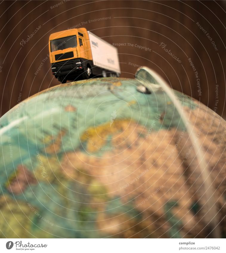Vacation & Travel Street Business Earth Transport Europe Construction site Logistics Driving Services Economy Traffic infrastructure Globe Workplace Highway