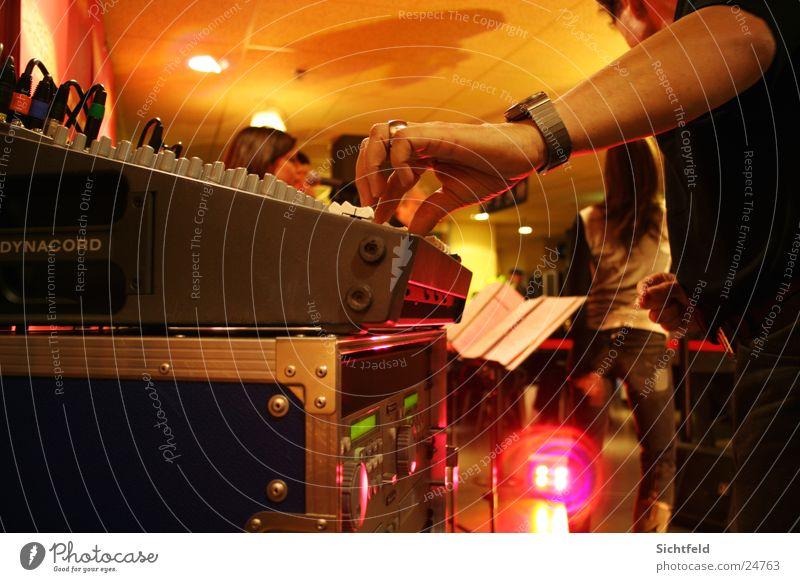 Music Group Concert String Musician Live Mixing desk Choir