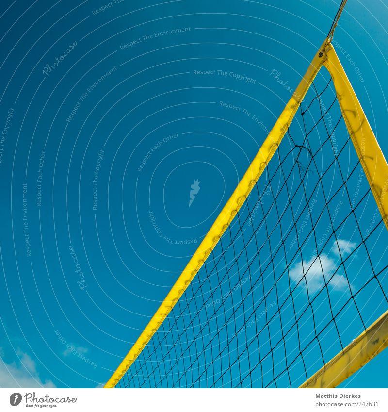 Beautiful Summer Sports Esthetic Net Sporting event Volleyball (sport) Ball sports Volleyball net