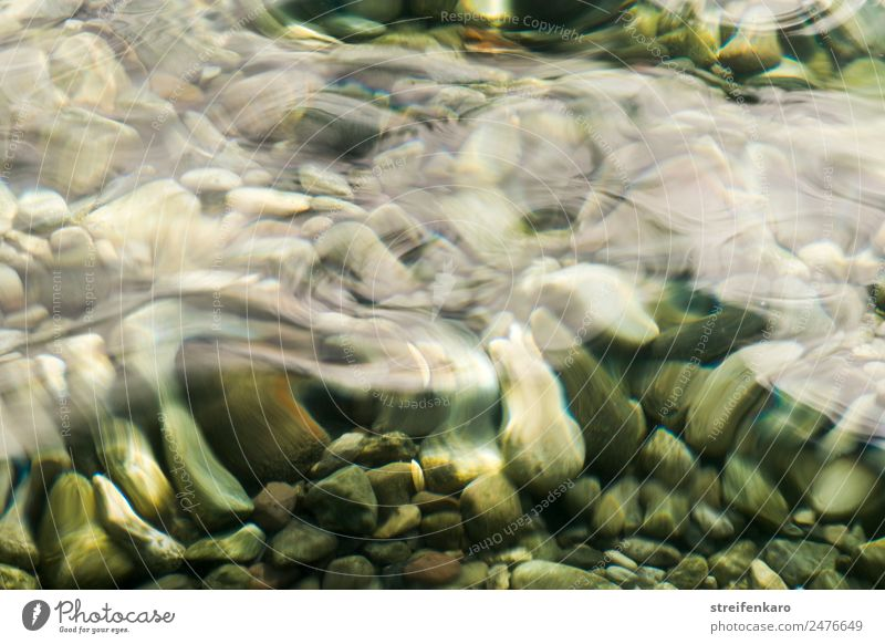 Stony under the waves. Harmonious Relaxation Calm Summer Beach Waves Environment Nature Elements Water Lakeside River bank Brook Stone Movement Lie Esthetic