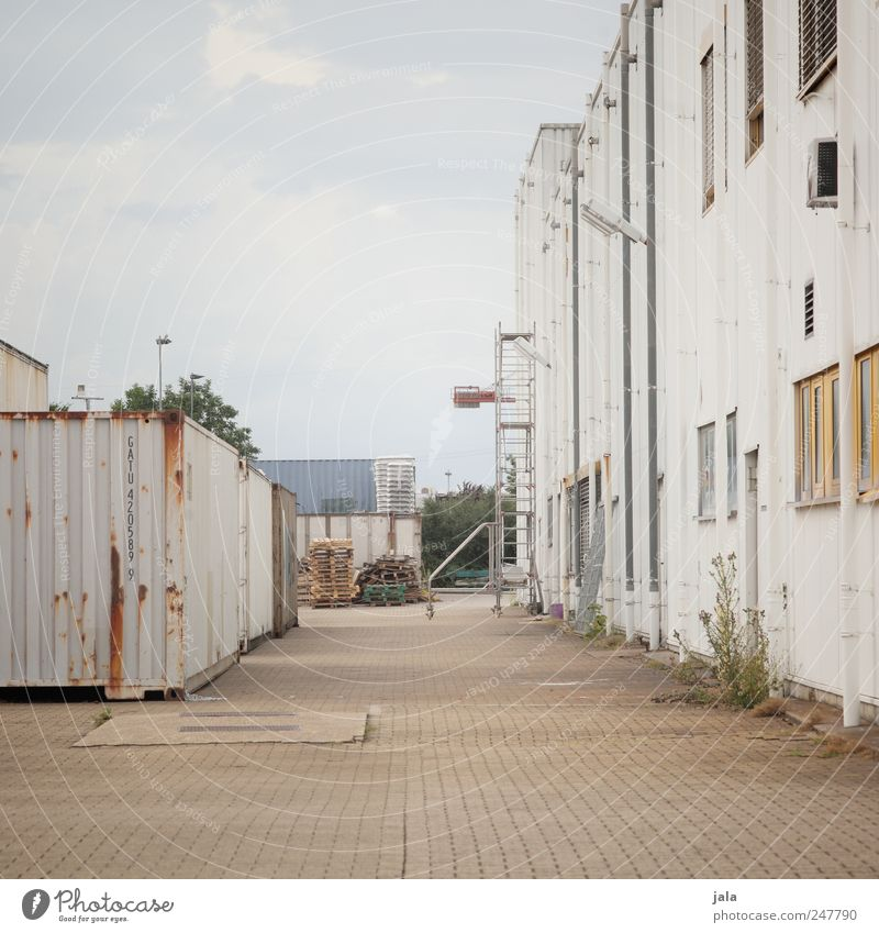 Sky City House (Residential Structure) Wall (building) Wall (barrier) Building Places Gloomy Industry Factory Manmade structures Industrial plant