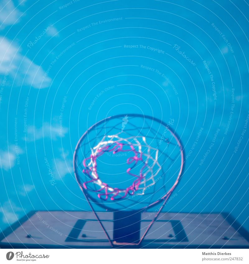 Sky Old Sports Movement Action Retro Net Wooden board Basketball Practice Basketball basket Ball sports