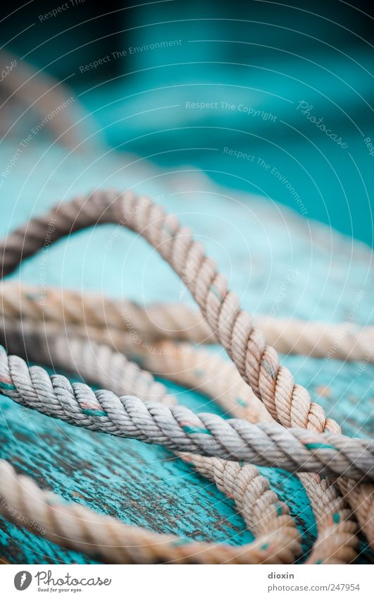 Old Colour Rope Lie Authentic Transience String Decline Connection Navigation Attachment Flake off Deck Fishing boat On board Spar varnish