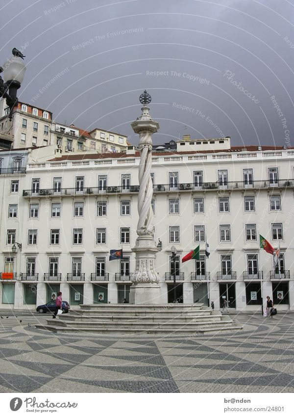 Lisbon Statue Landmark Architecture