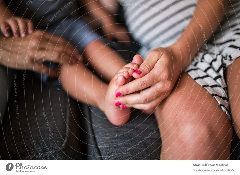 close up shot of a mother holding kid foot Massage Child Baby Woman Adults Parents Mother Father Family & Relations Infancy Hand Fingers Feet 3 Human being
