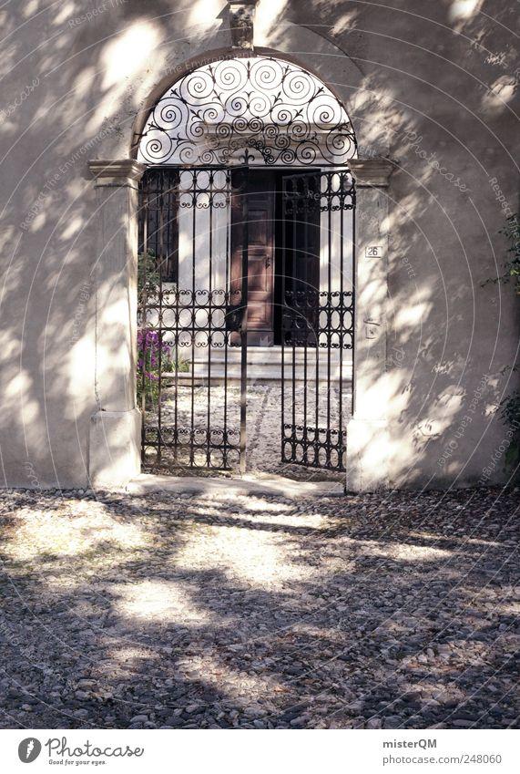 Vacation & Travel Building Door Open Tourism Esthetic Decoration Italy Village Gate Entrance Noble Ancient Rome Tourist Attraction