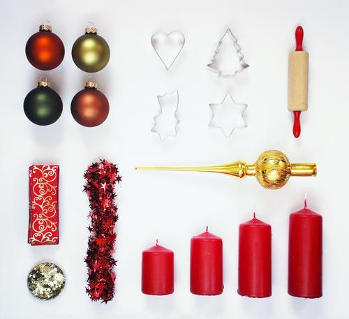 """""""900 First Aid Kit. Lifestyle Design Feasts & Celebrations Art Esthetic Shopping Consumption Christmas & Advent Christmas tree decorations Baking tin"""