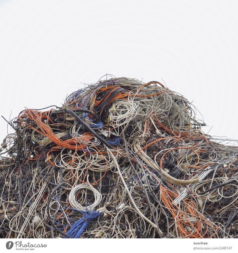 Broken Plastic Chaos Environmental pollution