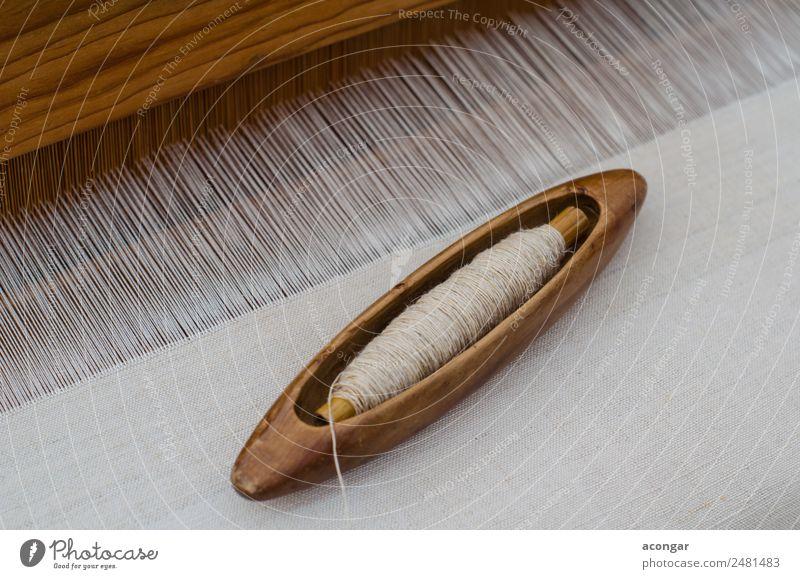 Handmade silk loom in La Palma White Design Soft Cloth Artist Horizontal Production Raw Self-made Canaries Silk Handkerchief Loom Weaving