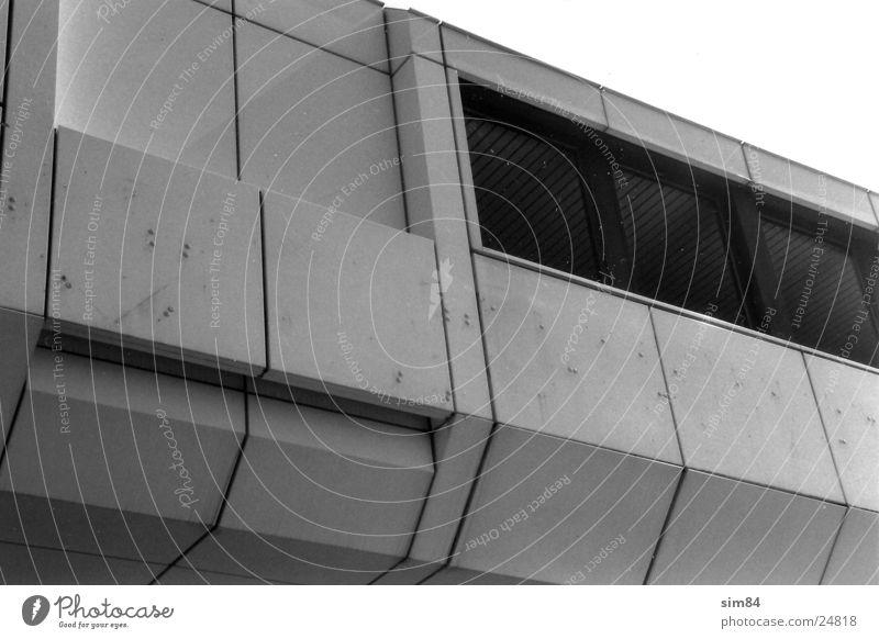 gopher Building Window Architecture Black & white photo Modern