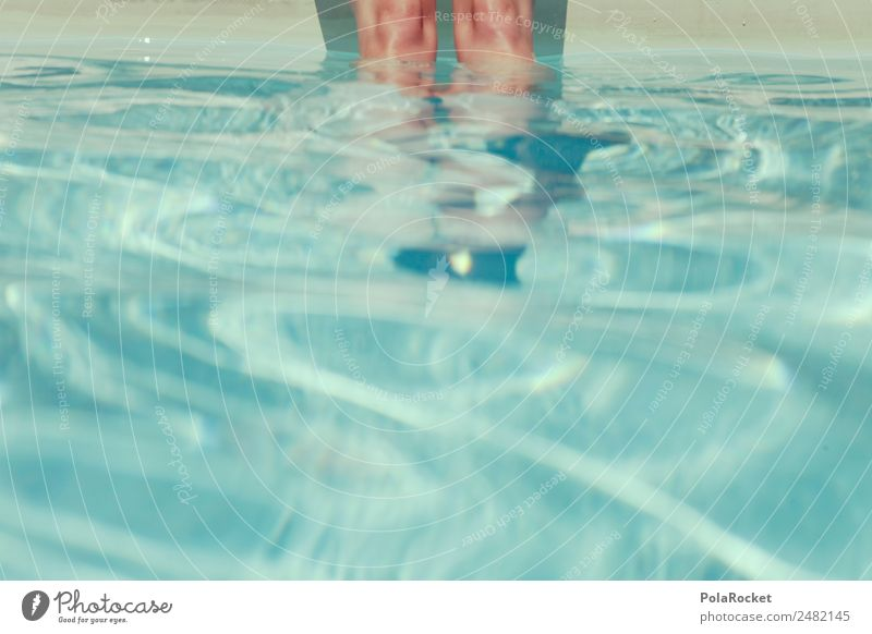 #A# Still water Leisure and hobbies Esthetic Swimming pool Summer Summer vacation Summery Refreshment Warmth Legs Water Surface of water Relaxation Wellness