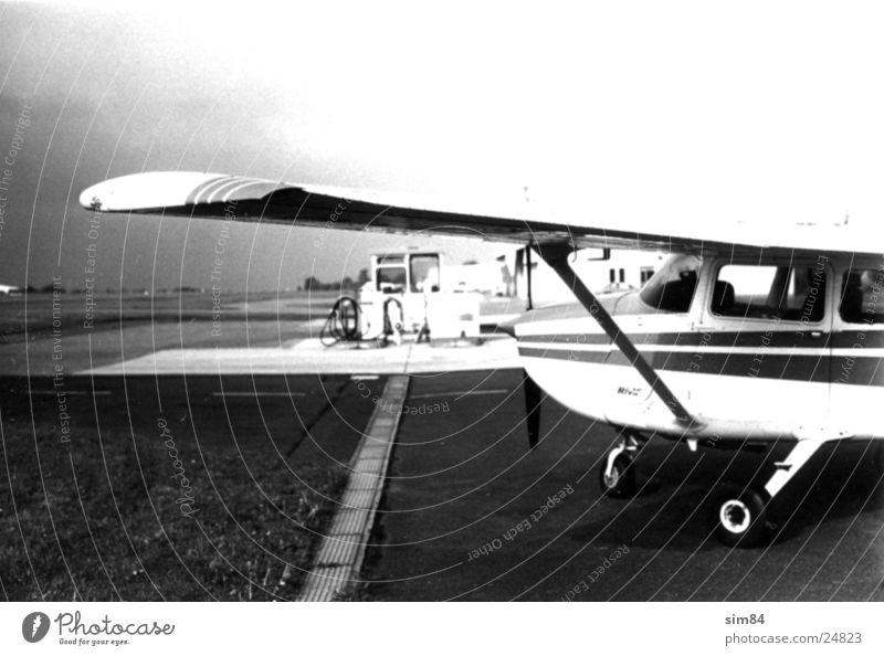 airport Airfield Winningen Airplane Petrol station Aviation
