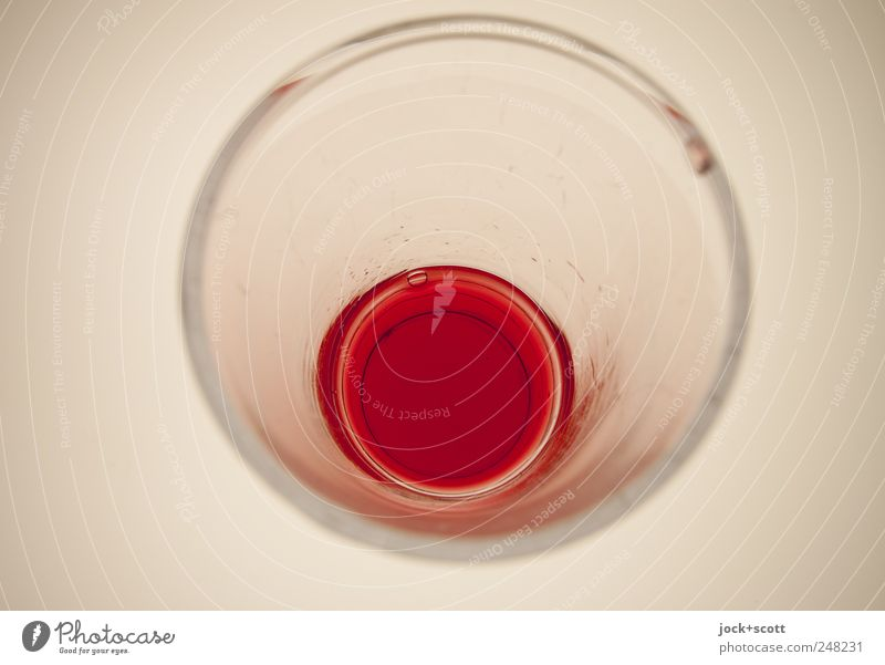 shortsight glass White Red Style Line Bright Design Glass Perspective Esthetic Circle Corner Clean Drinking Illuminate Pure
