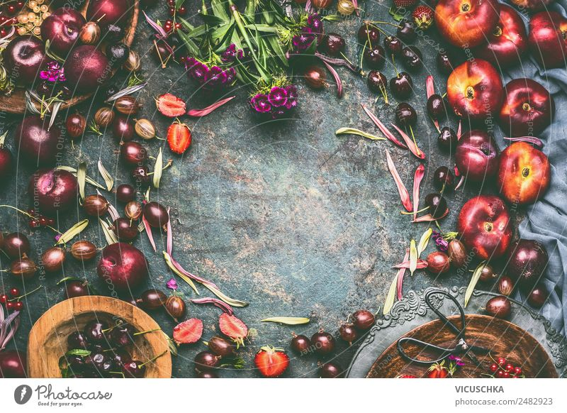 Summer Healthy Eating Flower Food photograph Background picture Style Garden Design Fruit Nutrition Table Kitchen Organic produce