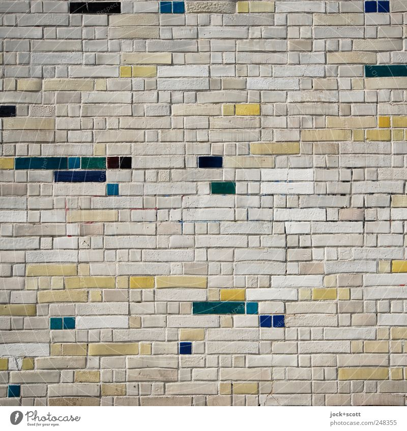 Facade Deluxe Arts and crafts Wall cladding Decoration Ornament Esthetic Sharp-edged Elegant Quality Brick facade Seam Rectangle Square Side by side Difference