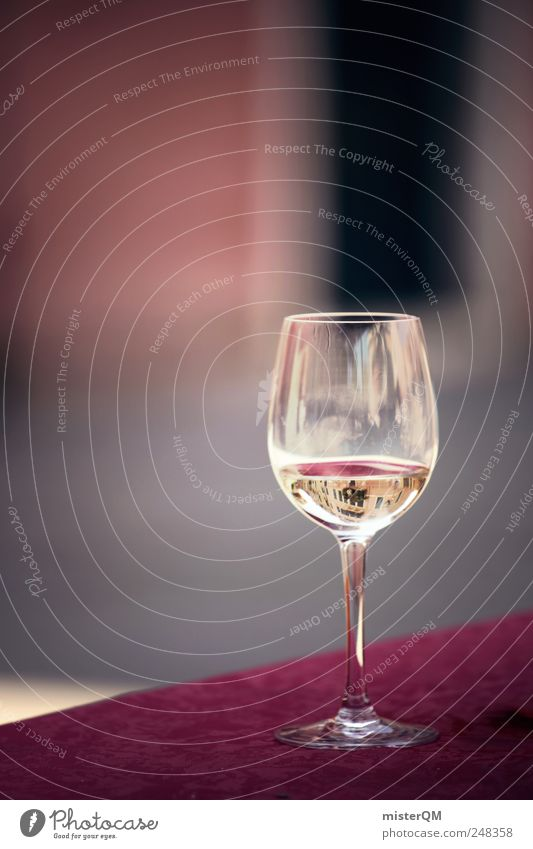 Relaxation Calm Style Lifestyle Contentment Elegant Glass Esthetic To enjoy Italy Break Beverage Gastronomy Wine Flair Alley