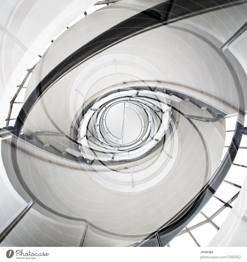 eye Elegant Style Design Interior design Staircase (Hallway) Esthetic Exceptional Hip & trendy Tall Uniqueness Round Crazy Modern Perspective Symmetry Distress