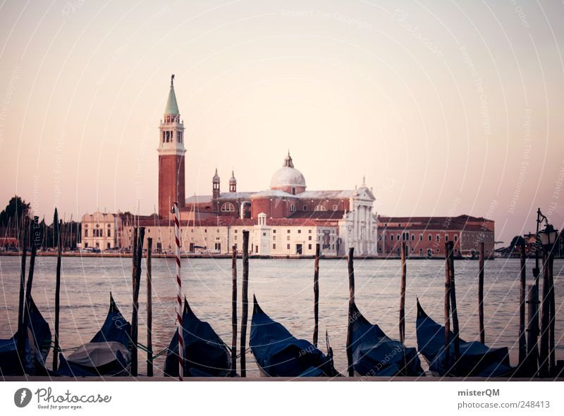 San Giorgio Maggiore. Art Work of art Esthetic Venice Tower Tourist Attraction Italy Vacation & Travel Vacation mood Vacation photo Vacation destination