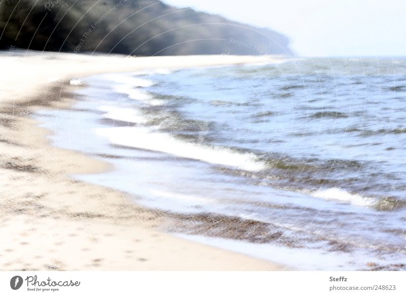 Baltic Sea beach in Poland - a dreamlike memory Baltic beach differently Maritime Gorgeous Baltic coast Ocean Beach Waves Impression remembrances Moody Memory
