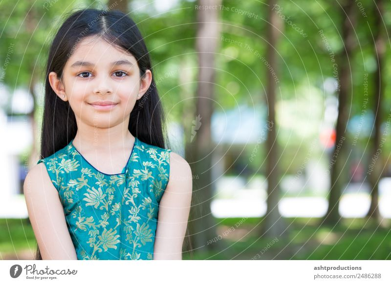 Cute girl portrait Body Child Girl 1 Human being 3 - 8 years Infancy Nature Park Forest Simple Friendliness Happiness Healthy Small Natural Emotions Happy