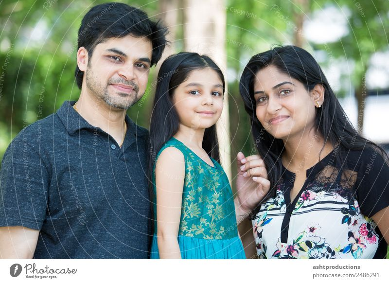 Family Child Human being Girl Woman Adults Man Parents Mother Father Family & Relations 3 Nature Stand Embrace Together Small Natural Cute people young asian