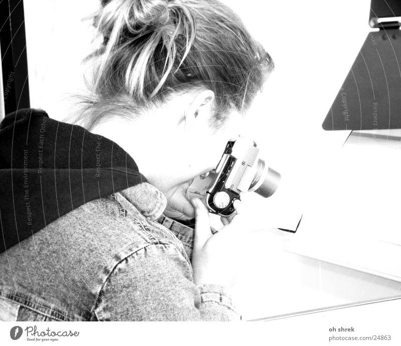 Woman Photography Camera Take a photo Digital photography
