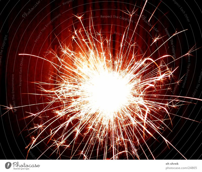 Bright Star (Symbol) Firecracker Explosion Spark Sparkler Photographic technology