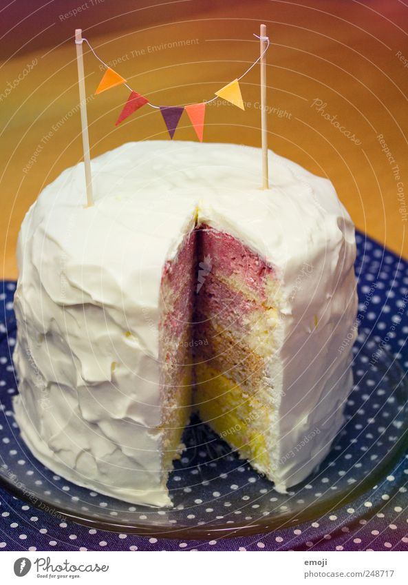 rainbow cake III Cake Dessert Banquet Delicious Prismatic colors Gateau Birthday Birthday cake Childrens birthsday Flag Cream Cream gateau Colour photo