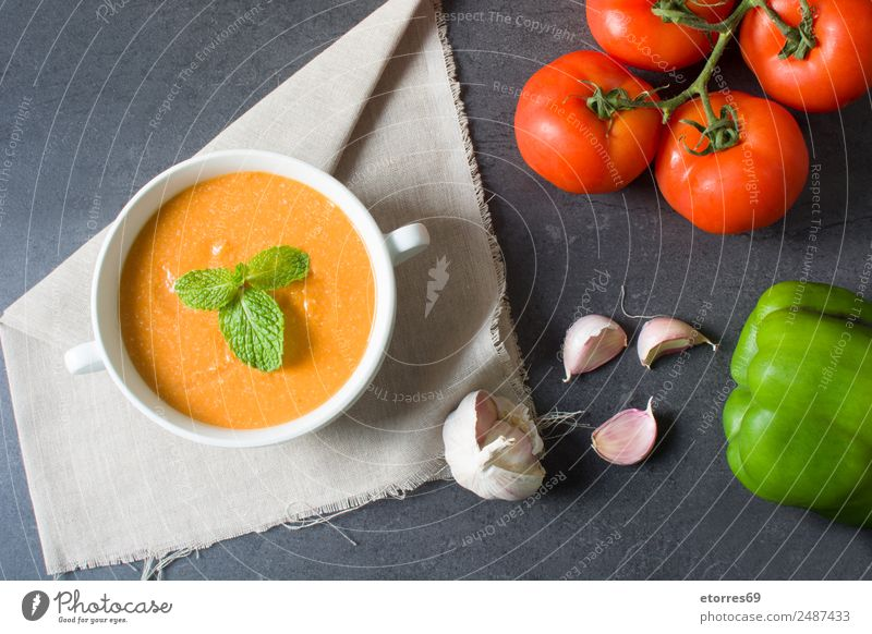 Pumpkin soup and ingredients Food Vegetable Nutrition Eating Lunch Organic produce Vegetarian diet Bowl Thanksgiving Fresh Healthy Good Green Orange Red Black