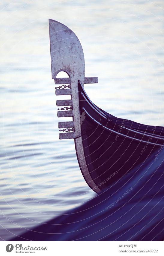 Ferro. Art Work of art Esthetic Gondola (Boat) Navigation Watercraft Venice Italian Vacation & Travel Vacation mood Vacation photo Vacation destination Romance