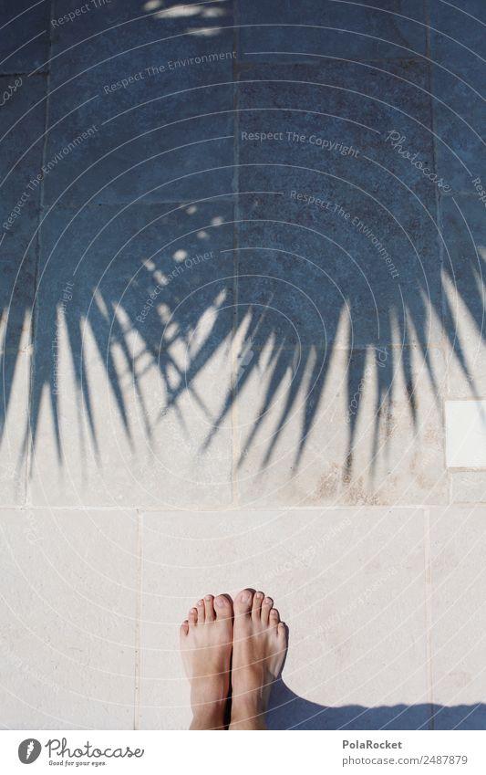 #A# Holiday feet Art Work of art Esthetic Vacation & Travel Vacation photo Vacation mood Vacation destination Vacation good wishes Sun Sunbeam Palm tree Shadow
