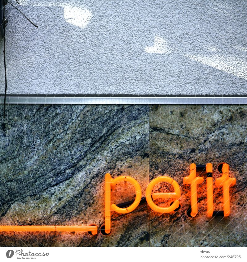 Beautiful Wall (building) Orange Facade Esthetic Characters Letters (alphabet) Marble French