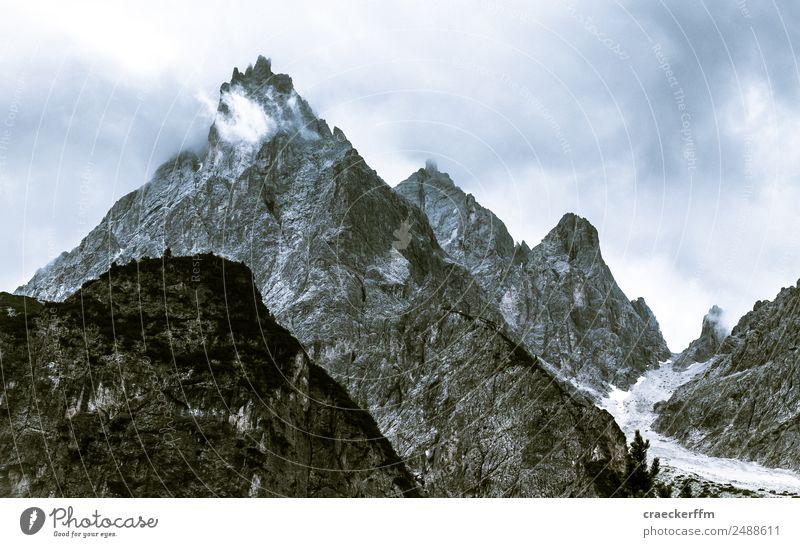 Dolomiten VIII Vacation & Travel Tourism Freedom Summer Summer vacation Mountain Hiking Nature Landscape Clouds Rock Dolomites Peak Observe To enjoy Esthetic